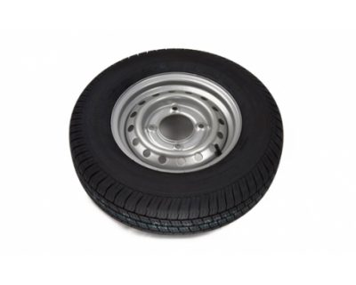 165R13C 8PLY 1.5 Tonne Trailer Wheel + Tyre