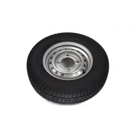 165R13C 8PLY 1.5 Tonne Trailer Wheel + Tyre