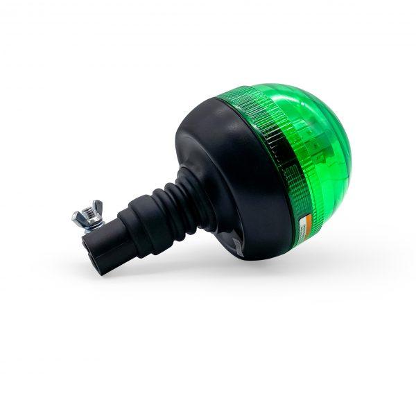 Green Pole Mounted LED Beacon